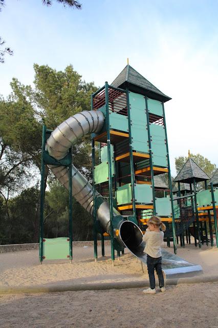tobogan parque picnic mallorca