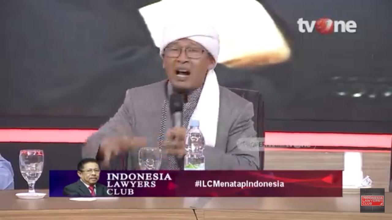 Berapi-Api di #ILCMenatapIndonesia, Aa Gym Peringatkan Keras Tukang Bohong