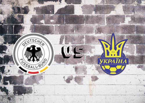 Alemania vs Ucrania  Resumen y Partido Completo