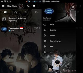 BBM Mod Tema Kartun v3.3.3.39 Terbaru Apk