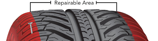 Basic rules for proper tire repair