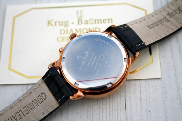 Krug-Baümen Rose Gold Ladies Chronograph Watch