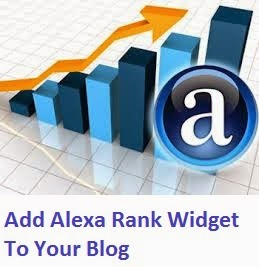How To Add Alexa Rank Widget To Your Blog?