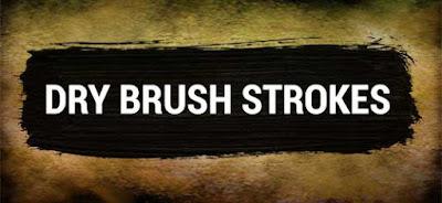 تجميعة Dry brush strokes