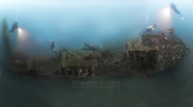 Wreck Panorama by Jun V Lao
