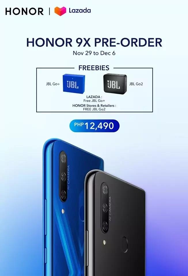 Honor 9X Pre-Order