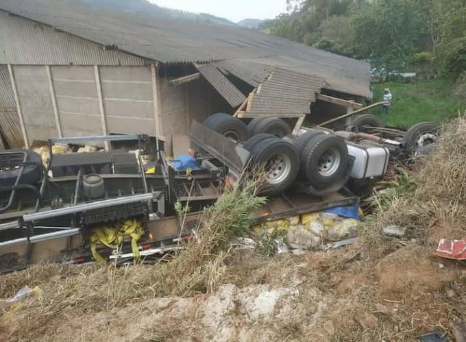 Caminhoneiro que saiu com carga de arroz de Dom Pedrito, é vítima de acidente em MG