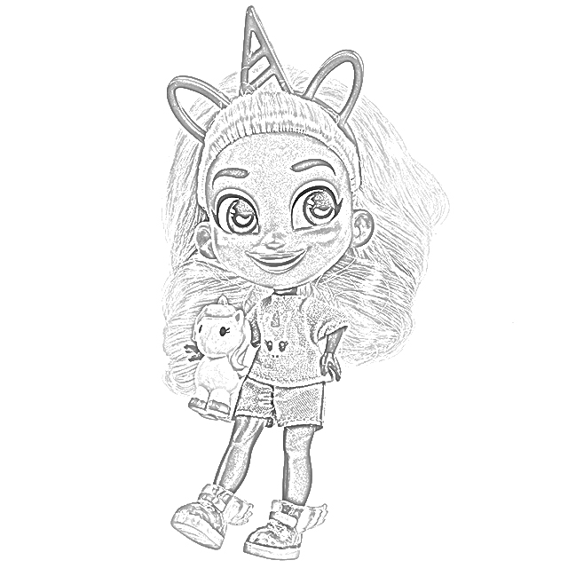 Coloring Pages Hairdorables Coloring Pages Free And Downloadable
