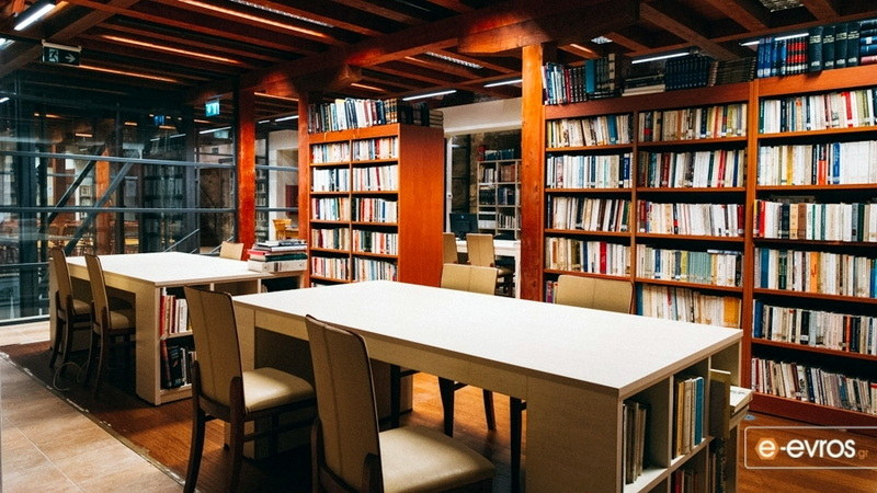 Η Δημοτική Βιβλιοθήκη Αλεξανδρούπολης στην πόρτα σας!