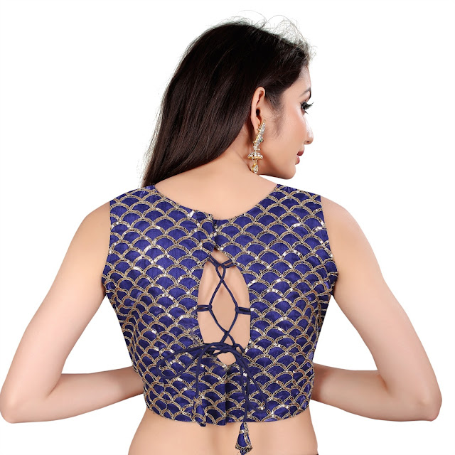 Trendy Blouse Back Designs Latest Fashion