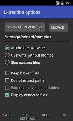 تطبيق Android v5.60 الضغط الملفات