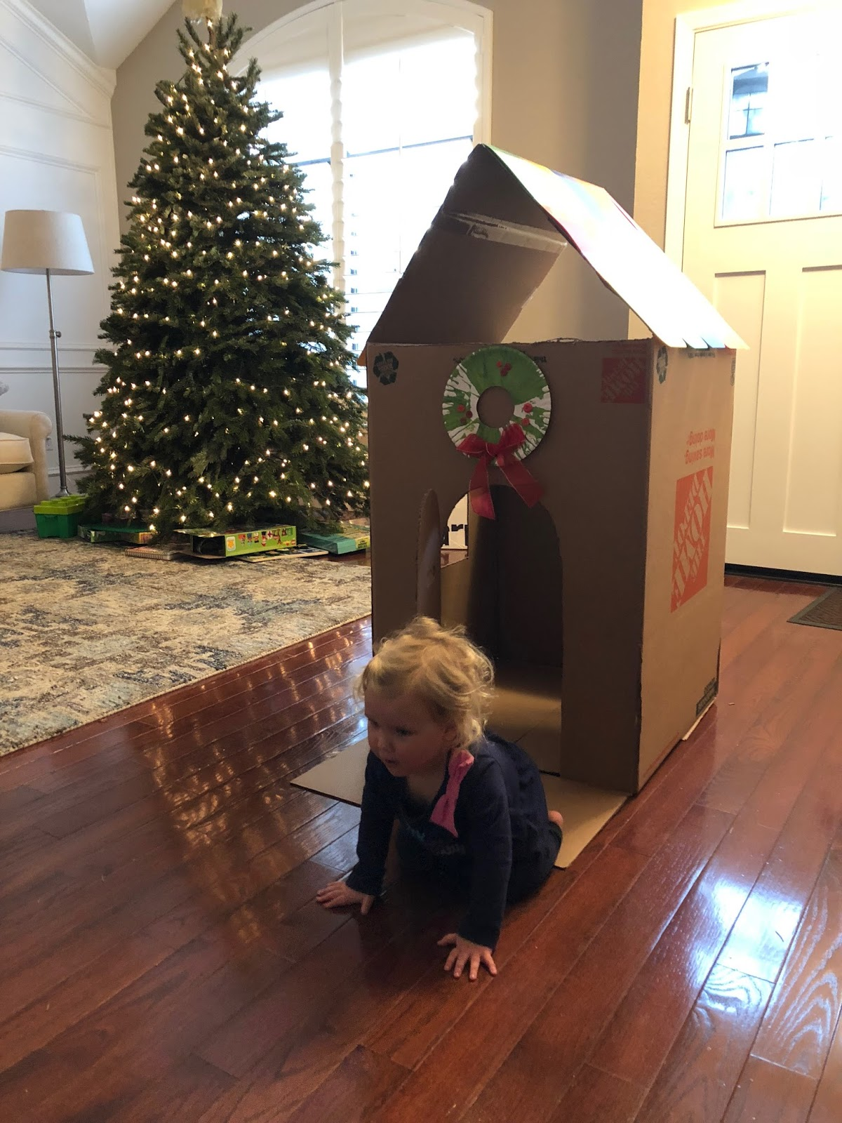 Toddler Approved Sticker Gingerbread Houses Christmas Cardboard