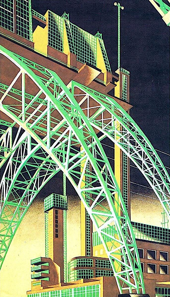 Iakov Chernikhov constructivism design, Russia