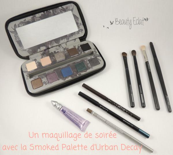 tutoriel maquillage de soirée urban decay