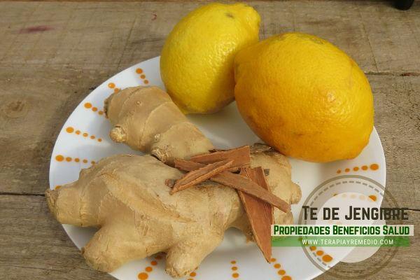 El té de jengibre con limón es una de las bebidas con más antioxidante e inmunoestimulantes que necesita nuestro cuerpo
