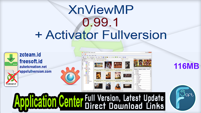 XnViewMP 0.99.1 + Activator Fullversion