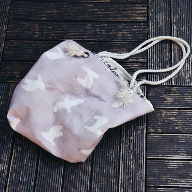 GrinseStern, Tasche, nähen, Nähliebe, tutorial, schwalben, handtasche
