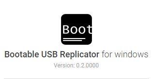 Create a bootable USB image