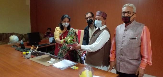 राष्ट्रीय सिंधी समाज के प्रतिनिधि मंडल ने नगर निगम कोटा उत्तर की महापौर का किया अभिनंदन