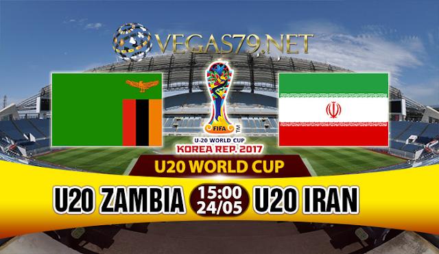 Nhận định, soi kèo nhà cái U20 Zambia vs U20 Iran