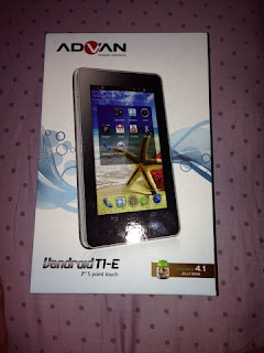 Cara Flashing Tablet Advan Vandroid T1E