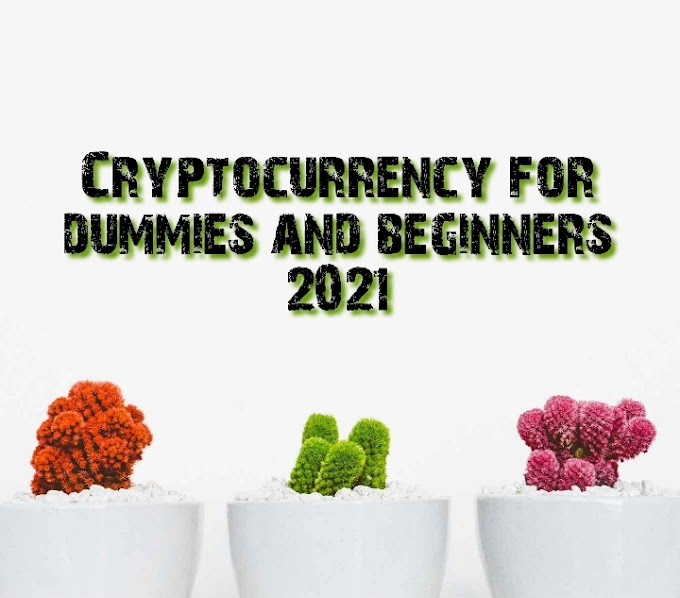 Cryptocurrency for dummies and beginners 2021