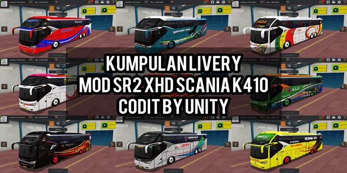 livery mod bussid sr2 xhd scania k410