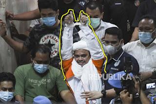 Habib Rizieq Masuk Sel Narkoba, Para Tahanan Bertato Berebut Peluk dan Cium Tangan