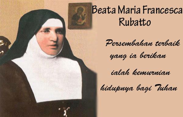 Beata Maria Francesca Rubatto, Maria Francesca Rubatto