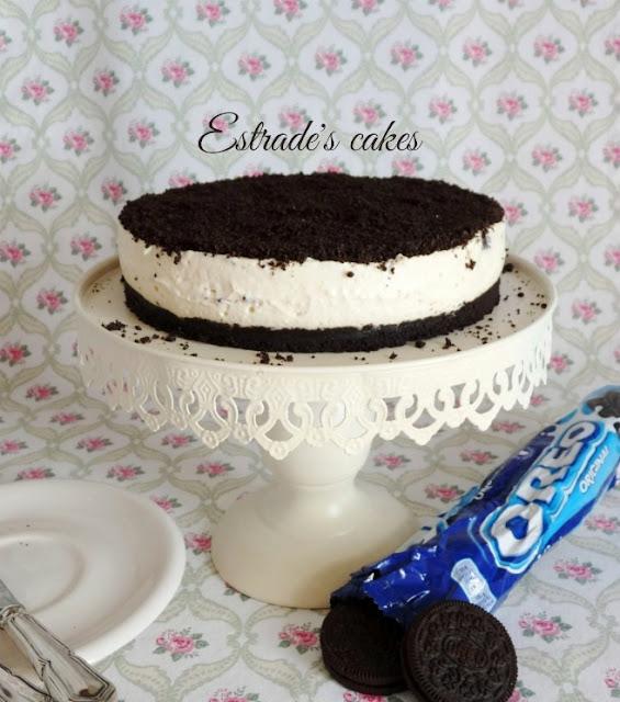 Receta de tarta de Oreo sin horno 2