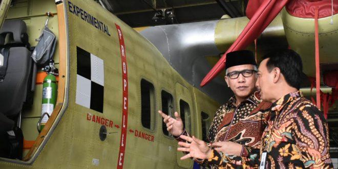Pemerintah Aceh Beli Pesawat N219 Nurtanio