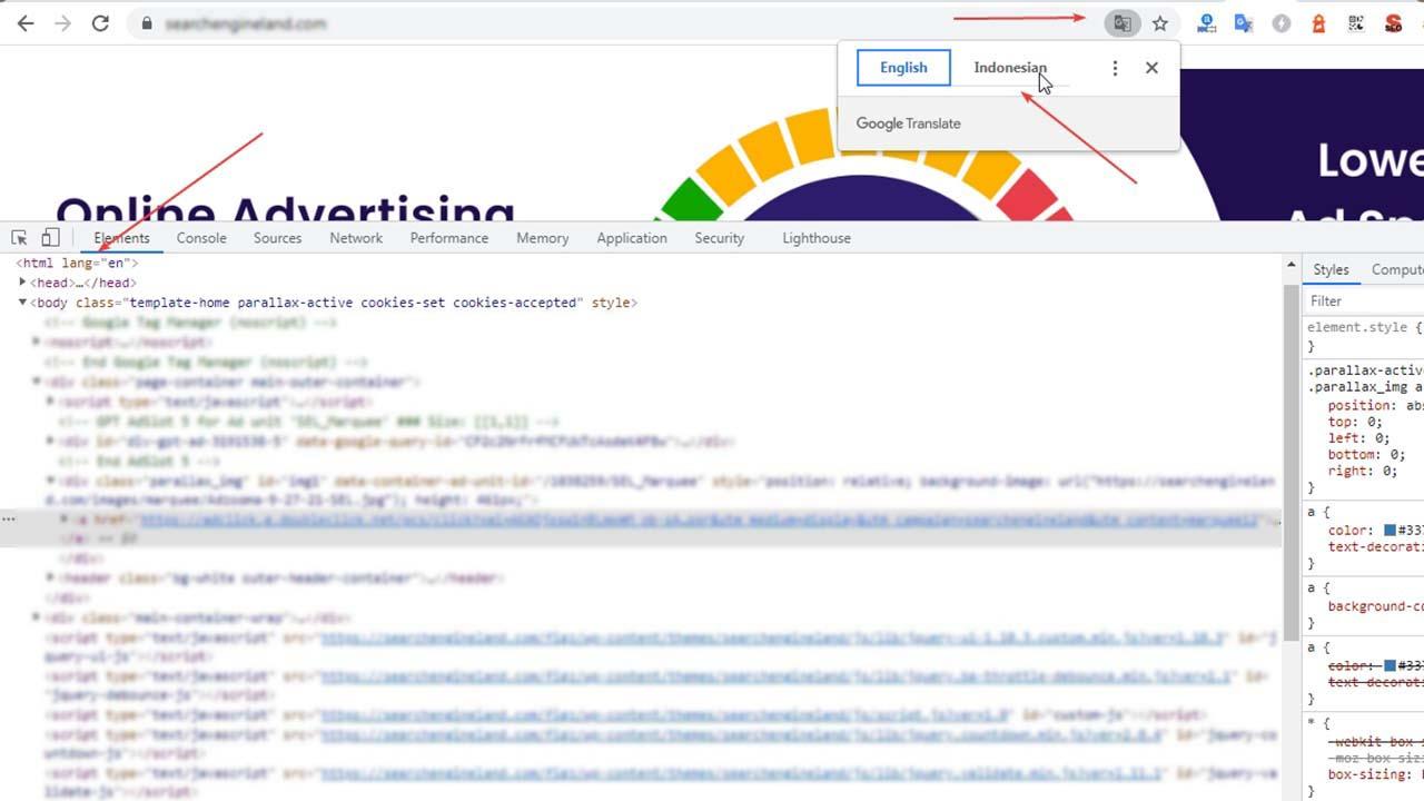 Fungsi Atribut Lang Pada HTML Blog