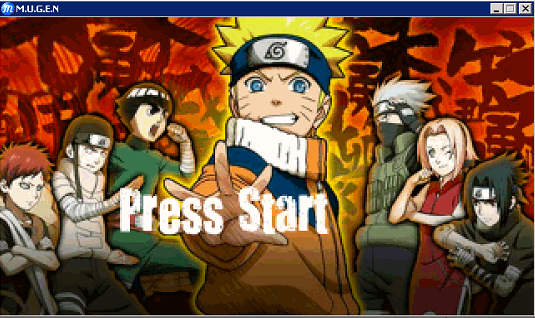 Naruto Ultimate Ninja Heroes 2 MUGEN PC Games Download