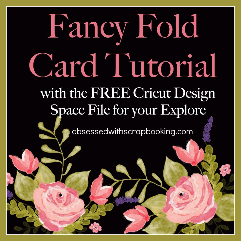 Obsessed With Scrapbooking: [Video]Circle Fancy Fold Flip Card