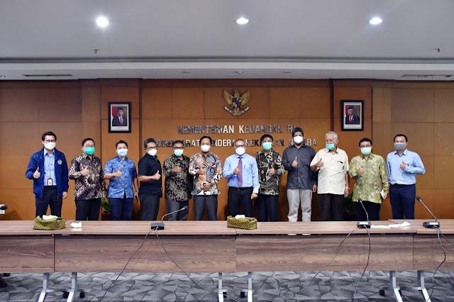Komisi I DPRD Jabar Berkonsultasi Dengan  Dirjen Kekayaan Negara Kemenkeu RI Terkait Aset