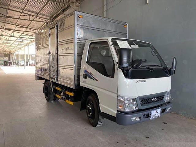 Giá xe tải Đô Thành IZ200 thùng kín