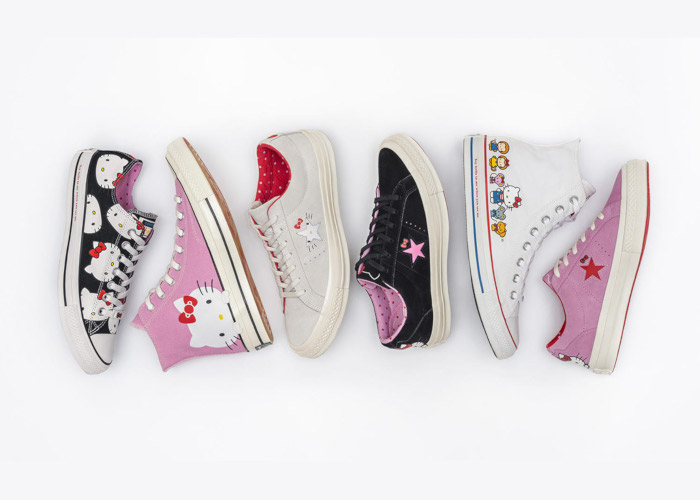 Hello Kitty & Converse Collaborate On A Fun Collection