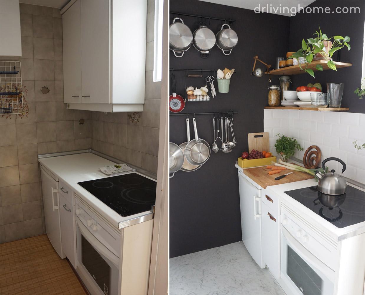 Renovar la cocina sin obras iv colocar suelo vin lico - Vinilos suelo cocina ...