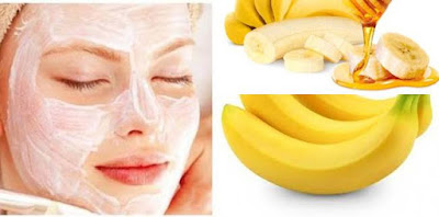 Summer facial Pack using banana mash