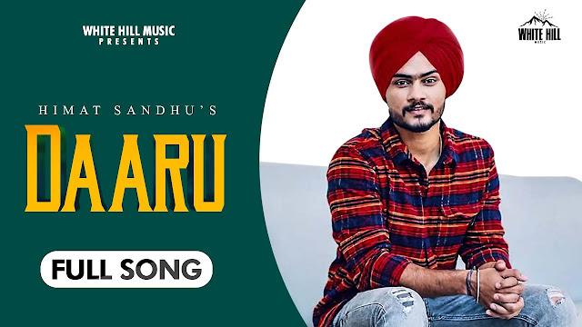 Daaru lyrics- Himmat Sandhu