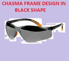 Chasma Frame Design in Black