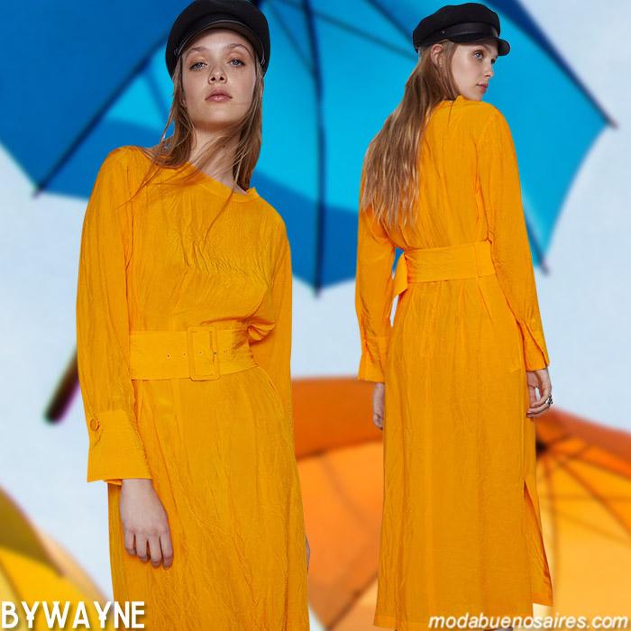 vestidos largos verano 2021 ropa de moda