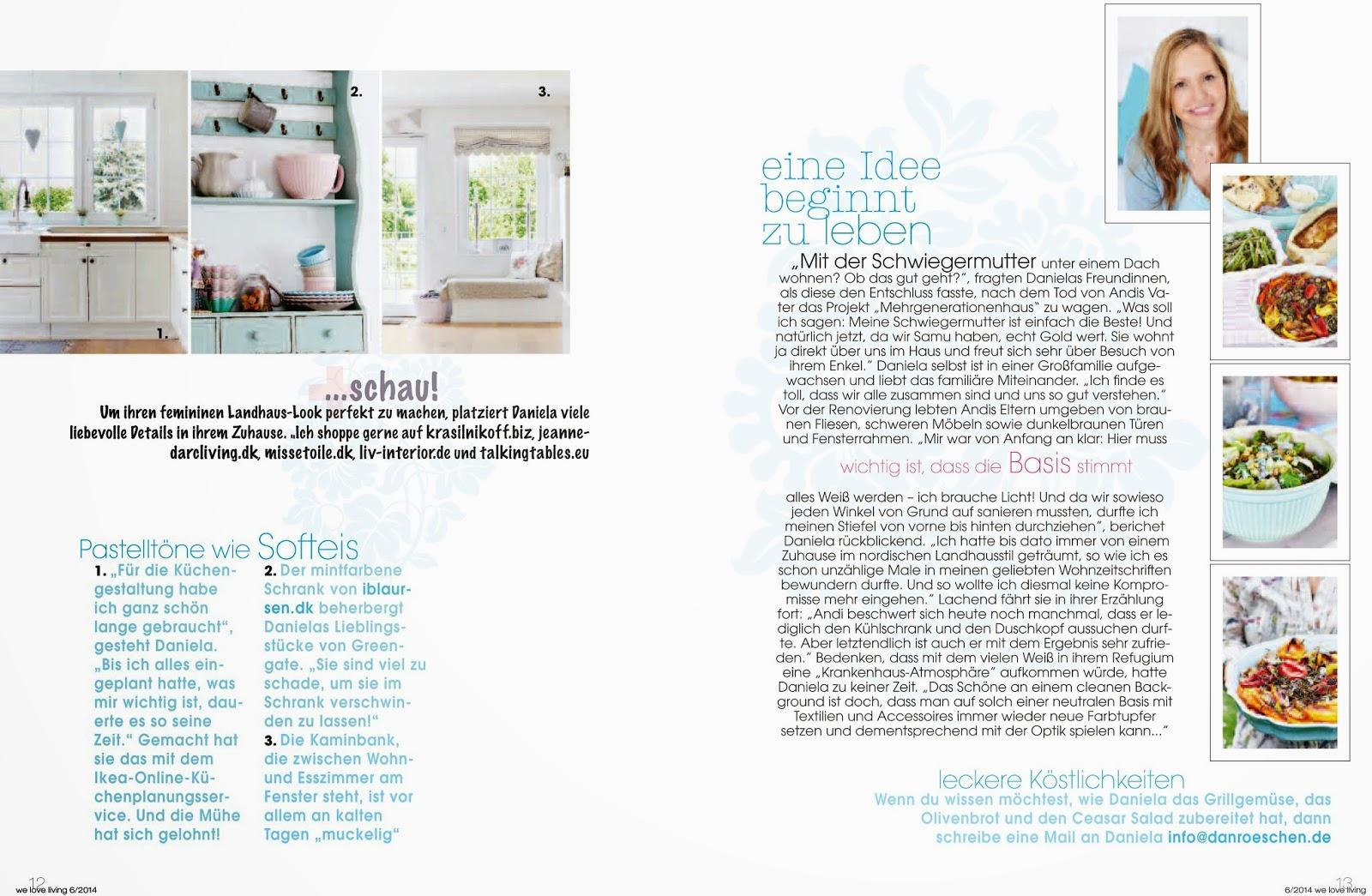 danr schen danr schen in der we love living. Black Bedroom Furniture Sets. Home Design Ideas