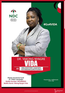 Dr Vida Yakong Picks Forms To Contest NABDAM NDC Primaries