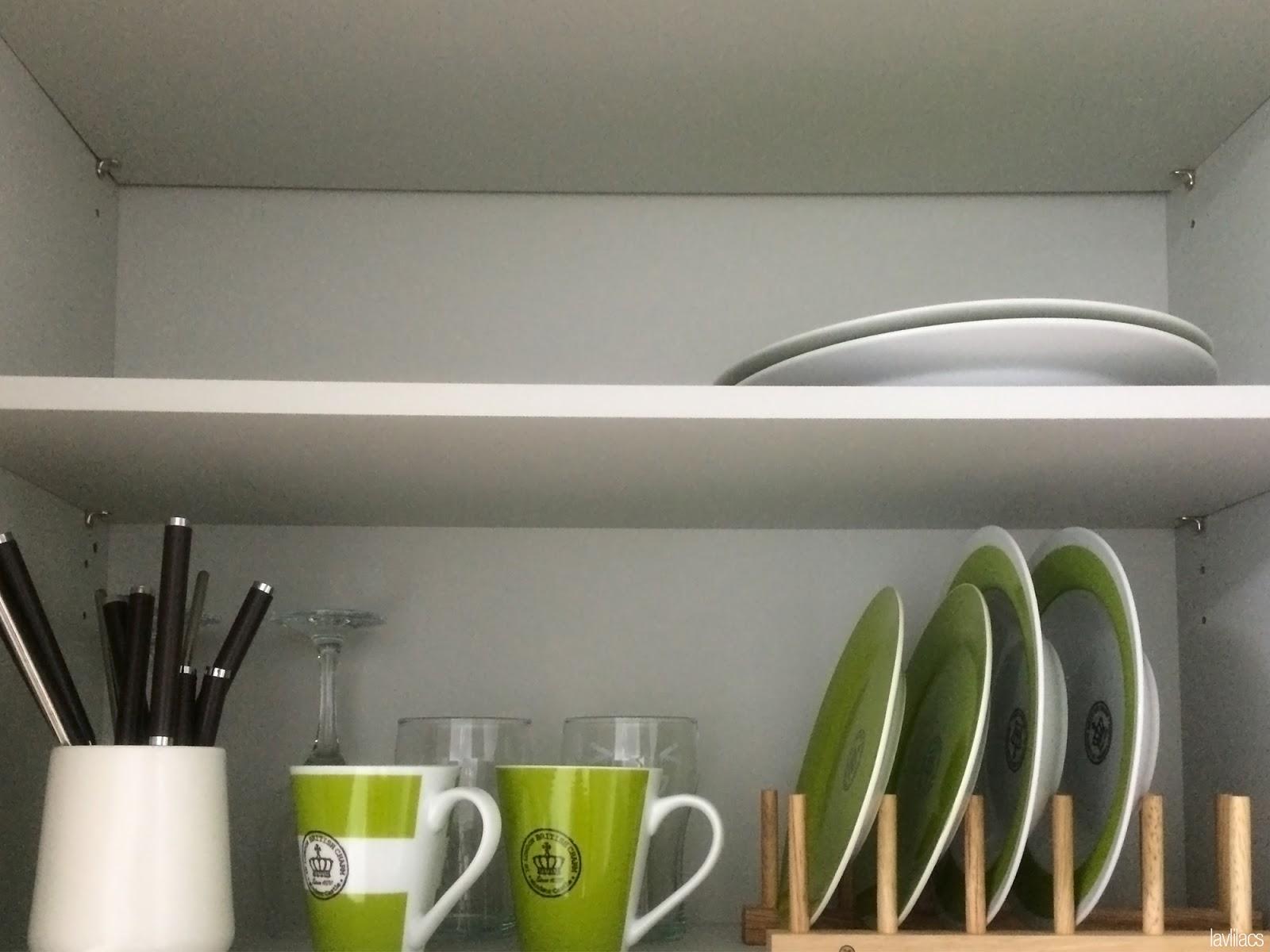 Seoul, Korea - Summer Study Abroad 2014 - Busan studio kitchen cabinets via AirBnB