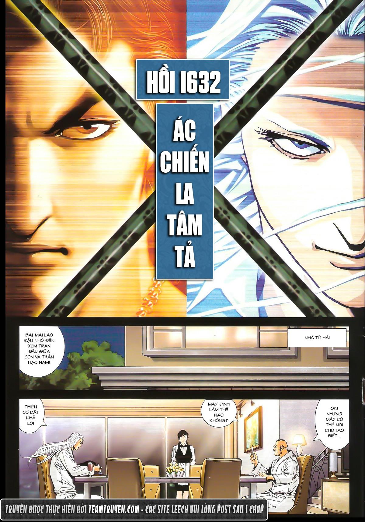 Người Trong Giang Hồ chapter 1632: ác chiến la tâm tả trang 2
