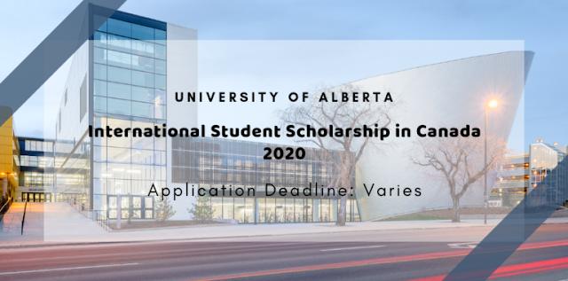 منحة كاملة ممولة من جامعة ألبرتا الدولية للطلاب من مختلف بقاع العالم لدراسة البكالوريوس في كندا 2020