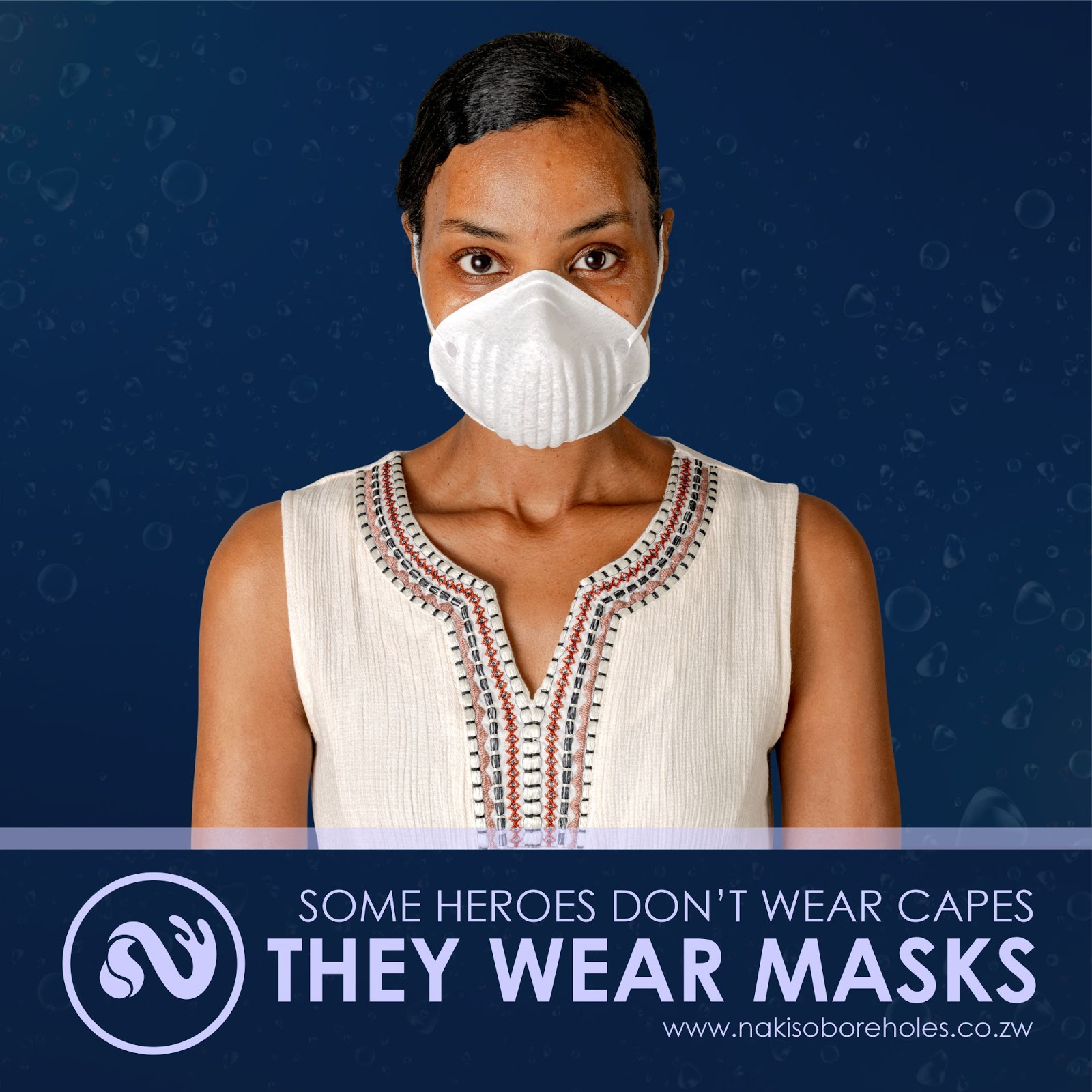 Some Heroes Don't Wear Capes, They Wear Masks