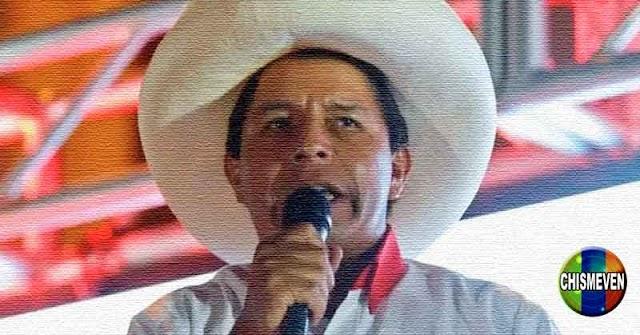 DESGRACIA SOCIAL   Perú eligió a Pedro Castillo como presidente nuevo
