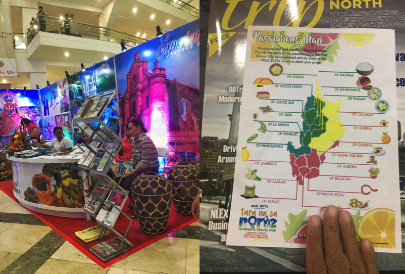TARA NA SA NORTE TRAVEL FAIR 2018  GLORIETTA MAKATI
